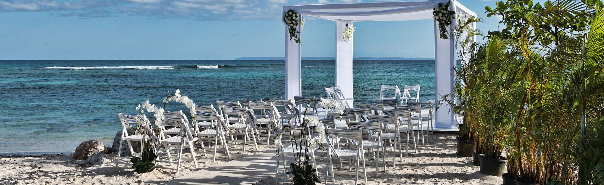 Wedding location in Martinique
