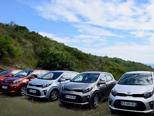 Location de voitures en Martinique