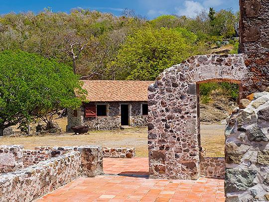 Caravelle Peninsula Chateau Dubuc Martinique