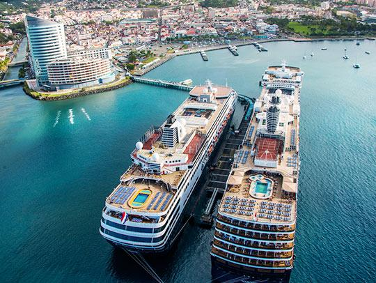 Cruise Ship Martinique