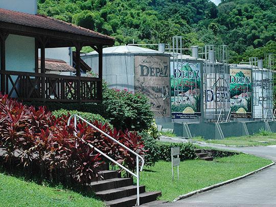 Distillerie Depaz Martinique
