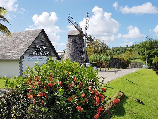 Distillerie Trois-Rivières Martinique