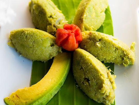 Feroce popular dish in Martinique
