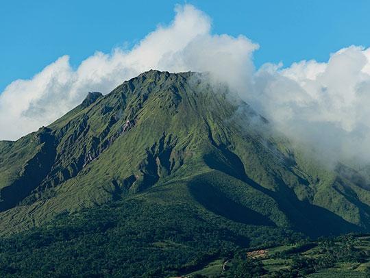 Mont Pelee à Saint-Pierre Martinique
