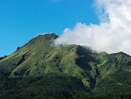Mount Pelee Martinique