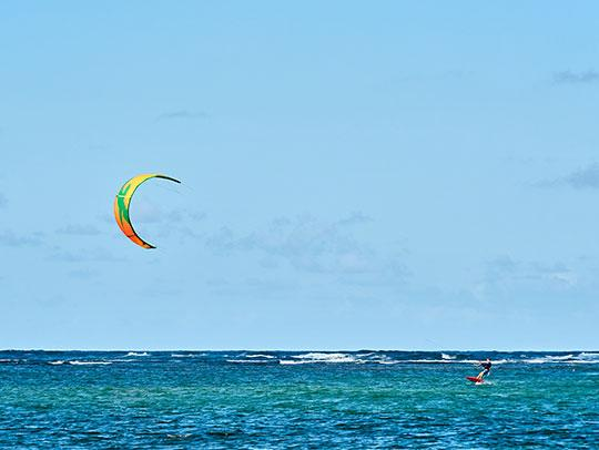Kite Surfing in Martinique