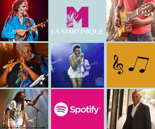 Playlist Spotify Martinique