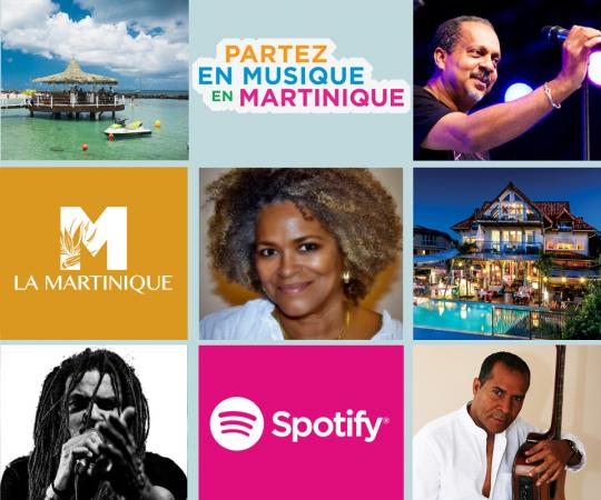 Martinique playlist spotify partez en musique en Martinique